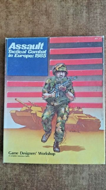 Assault Tactical Combat in Europe 1985 (Unplayed)